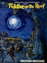 Fiddler On The Roof (Souvenir Brochure) - $9.95