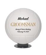 Groomsman Mini Volleyball Wedding Gift - Personalized Wedding Favor - $34.95