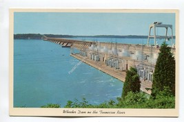 Wheeler Dam on the Tennessee River at Muscle Shoals Alabama - $0.99