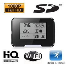 HIDDEN CAMERA WEATHER STATION | HD 1080P | WIFI REMOTE VIEW - $149.00