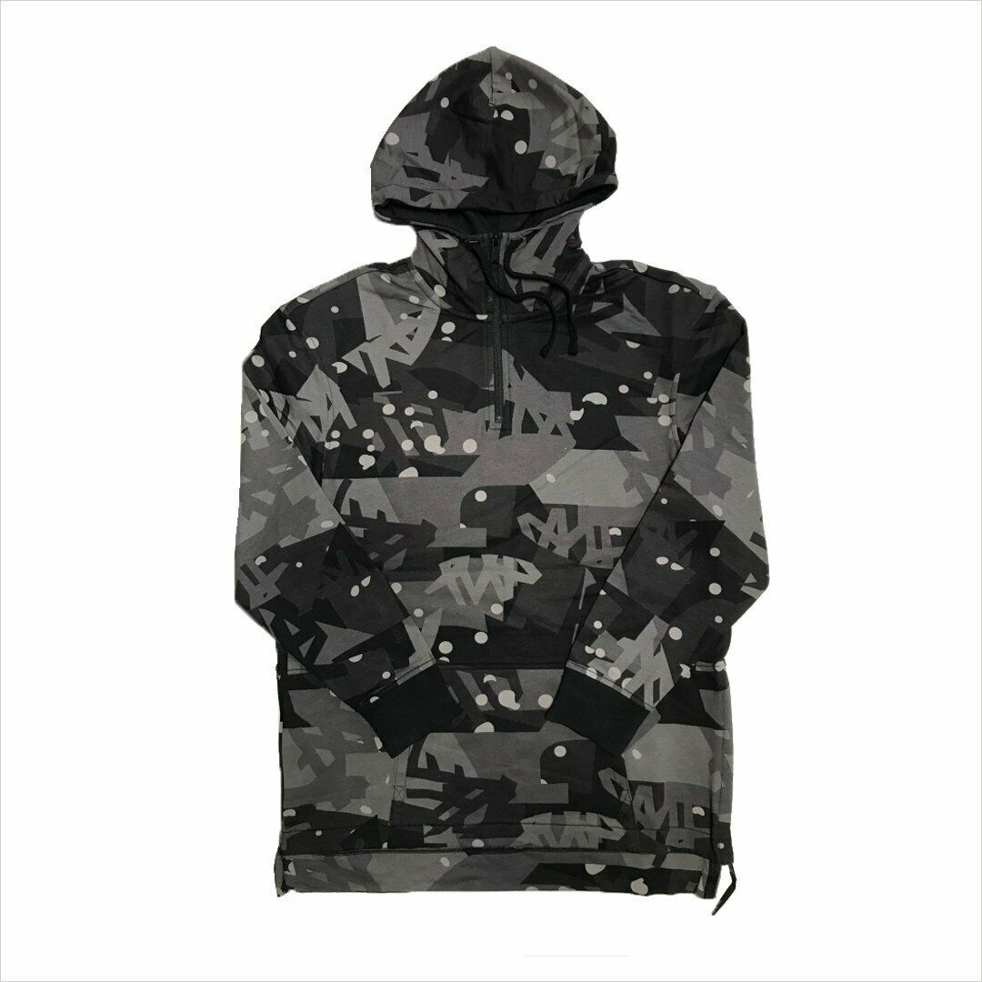 Primary image for TIMBERLAND A1MIS-M87 MEN'S DARK GREY CAMO PULLOVER HOODIE