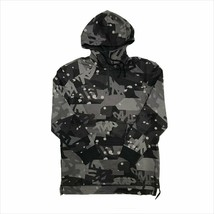 TIMBERLAND A1MIS-M87 MEN'S DARK GREY CAMO PULLOVER HOODIE - $49.99