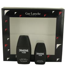 DRAKKAR NOIR by Guy Laroche Gift Set -- 1 oz Eau De Toilette Spray + .5 ... - $22.19