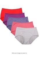 Bamboo Viscose Fiber Brief Menstrual Leakproof Panties Multi Pack Size X... - $37.17
