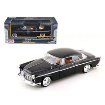1955 Chrysler C300 Black 1/24 Diecast Model Car by Motormax 73302bk - $25.49
