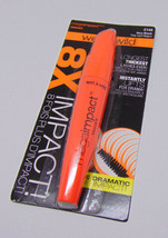 Lot of 2 WET N WILD MEGAIMPACT 8X The Volume Mascara Black 0.27oz./ 8ml - $7.43
