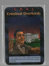 Goal: Criminal Overlords - Illuminati New World Order CCG - Steve Jackso... - $5.87