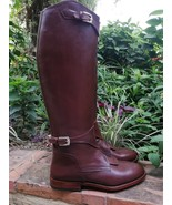 Handmade custom Riding Boots Leather Riding Boots high qualität leather - $387.75