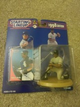 1998 Kenner Starting Lineup  Albert Belle #8 White Sox - Figure & Card MLB - $4.10