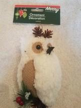 Owl Ornament Christmas upc 639277581174 - $18.69