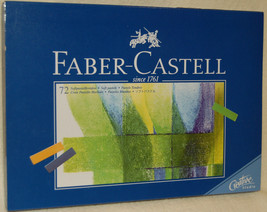 Faber Castell 72 Pc *Artist* Soft Pastel Sticks Set - New 128272 - $45.00