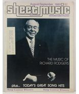 Sheet Music Magazine August/September 1980 Standard Piano - $3.99
