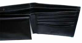 Guess Men's Leather Credit Card Id Wallet Passcase Bifold Black 31GU22X030 image 5