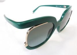 Salvatore Ferragamo Women's Sunglasses SF863S Green 56-22-135 MADE IN IT... - $175.00