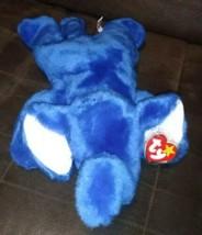 TY Beanie Buddy Original 1998 RARE Royal Blue Peanut the Elephant - $14.99