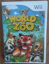 World Of Zoo Video Game Nintendo Wii - $10.00