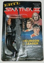 "Star Trek III: Search For Spock Movie Klingon ERTL 4"" Action Figure MOC ... - $33.85"