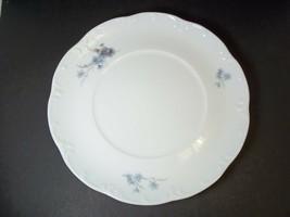 Rosenthal Belvedere classic rose salad plate Monbijou shape blue floral ... - $9.70
