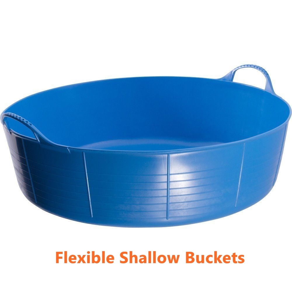 Primary image for Flexible Feed Buckets Garden Kids Small Sand Ball Pit Pet Pool Water Pit Blue