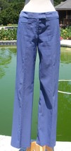 Cache $128 Flat Front Zipper Stretch Self Belt Pant NEW Sz 2/4/6 XS/S PE... - $39.95