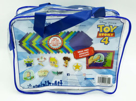 Disney's Toy Story 4 Make Your Own Fleece Quilt kit 28in x 28in Easy to ... - $12.99
