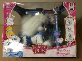 Disney Princess Palace Pets Magic Dance Pumpkin, Cinderella's Puppy SHELF PULL - $42.12