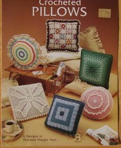Leisure Arts Crocheted Pillows Leaflet 282 - 6 Designs in Worsted Weight... - $4.90
