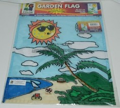 Two Group Flags Co 56018 Summer Day Decorative Garden Window Flag image 2