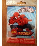 MARVEL ULTIMATE SPIDER-MAN 50 TATTOOS - $6.36