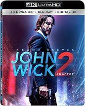 John Wick: Chapter 2 [4K Ultra HD + Blu-ray + Digital]
