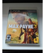 Max Payne 3 Sony PlayStation 3 Tested Working Complete - $13.51