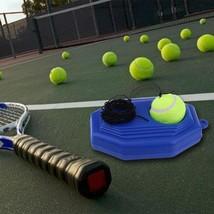 Tennis Training Tool Heavy Duty Exercise Self Study Rebound Practice Bas... - $13.99