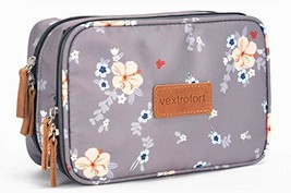Small Makeup Bag for Purse Travel Cosmetic Bags for Women with Brush Organizer a