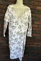 Vintage Gold Label Victoria's Secret Gown Medium Country Floral Lace Cro... - $24.75