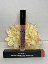 MAC Powerglass Plumping Lip Gloss - 285 Not Your Love Interest - NIB Fas... - $18.76