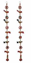 wall Hanging Bird decorative ornament Christmas Diwali Party Handmade RI... - $23.43