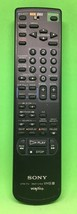 ORIGINAL Sony VTR RMT-V154 VHS VCR plus + Replacement Remote Control TESTED - $9.50
