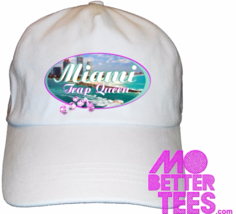 Miami Trap Queen dad hat baseball cap choose from black or white - $14.99