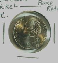 2004-D Jefferson Five Cents Peace Medal unc. Louisiana purchase medal - $4.21