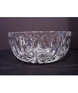 Older Waterford Cut Crystal Bowl with Diamond Pattern - $185.00
