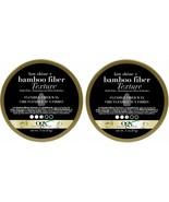 (Pack of 2) OGX Matte Finish + Bamboo Fiber Texture Flexible Fiber Wax 3 Oz - $29.69
