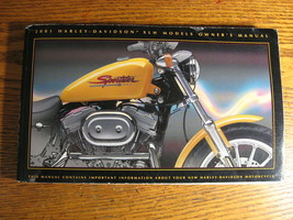 2001 Harley-Davidson Sportster Owner's Owners Manual XL XLH 883 1200 NEW - $42.08