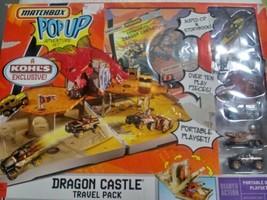 Mattel 2007  MATCHBOX Pop Up Deluxe DRAGON CASTLE Adventure Set - RARE -... - $98.99