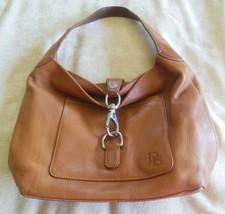 Vintage Dooney & Bourke Brown Leather Handbag/Shoulder Bag - $74.25