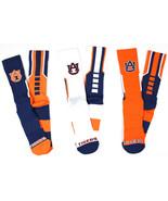 Auburn 3 Piece Sport Performance Socks Bundle - $29.95