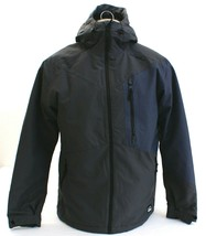 O'Neill Cue Gray Insulated Zip Front Hooded Snow Jacket Men's NWT - $172.49