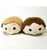 (2) Star Wars Tsum Tsum Plush Han Solo and Luke Skywalker Stuffed - $10.87