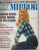 ORIGINAL Vintage February 1964 TV Radio Mirror Magazine Donna Douglas  - $18.51
