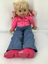 "1998 MGA Entertainment Giddy Up Horsey Cowgirl Doll Talking 20"" Vintage - $9.49"