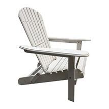 Carabelle Patio Outdoor Lawn & Garden Deck Villaret Adirondack Wood Chai... - $131.03